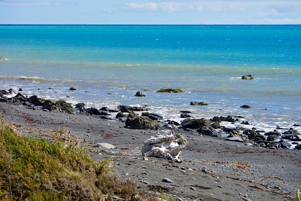 Cape Palliser - Küstenstreifen am südlichsten Punkt der Nordinsel & Südpazifik - Neuseeland