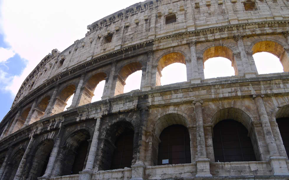 Kolosseum Rom Vorderansicht - Italien