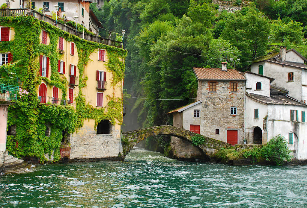 Schönste Orte am Comer See - Malerisches Nesso -Lombardei, Italien
