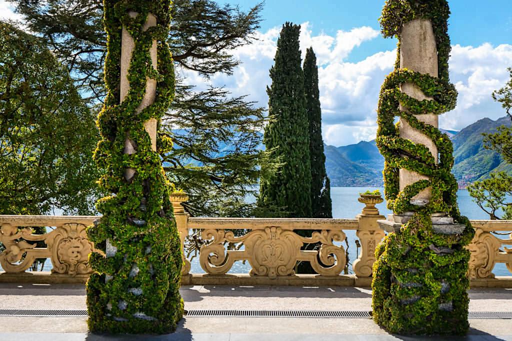 Comer See Zauber - Terrasse der Villa Balbianello - Lombardei, Italien