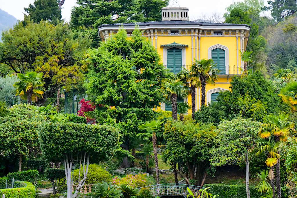 Die schönsten Comer See Villen vom Schiff aus entdeckt - Lombardei, Italien
