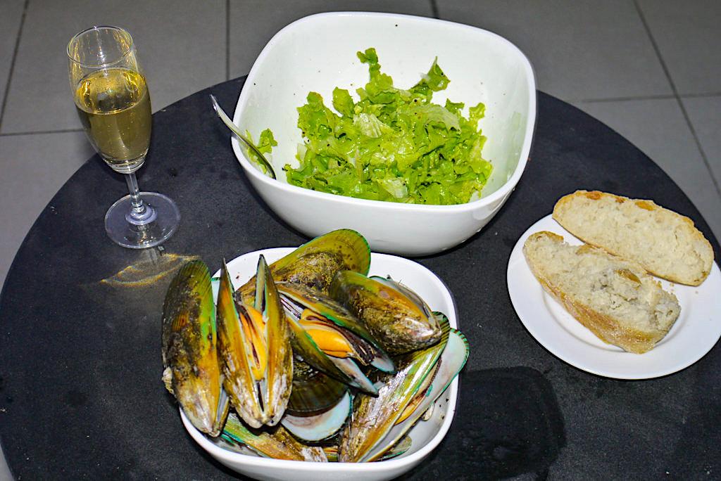 New Zealand Green Lips oder Greenlipp-Muscheln: eine Köstlichkeit - Nordinsel, Neuseeland