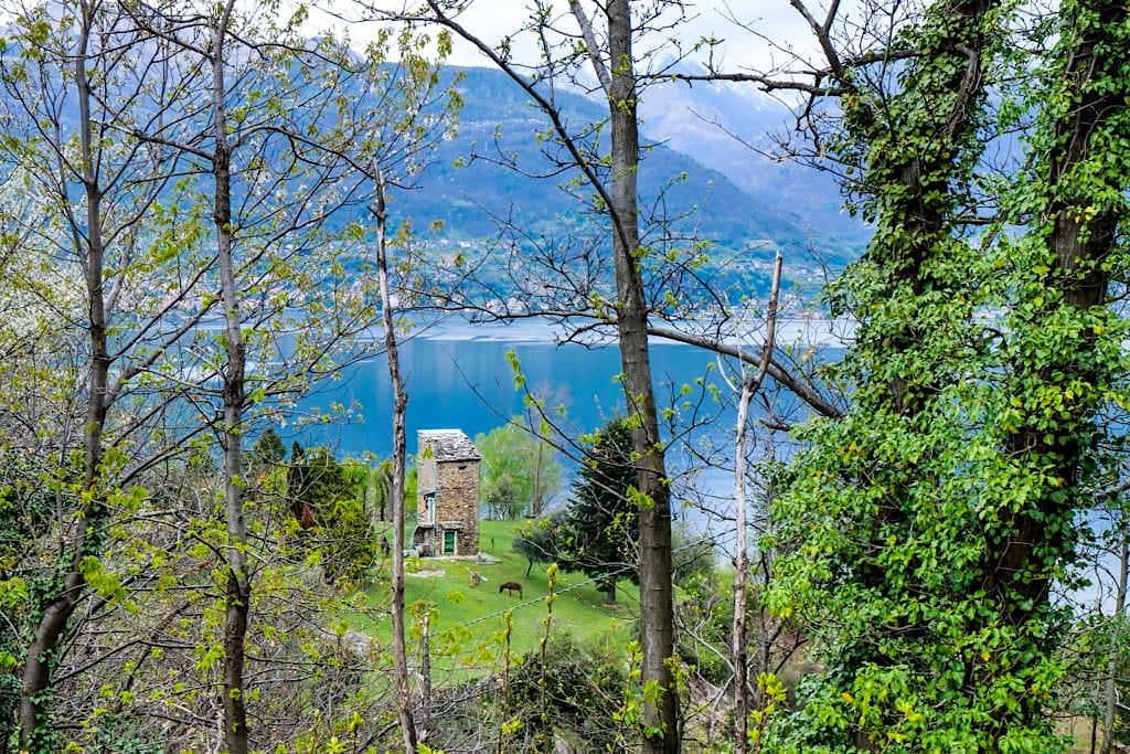 Halbinsel Piona - Herrliche Ausblicke auf der Westufer des Comer Sees - Lombardei, Italien