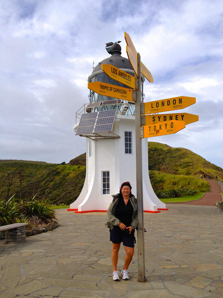 Lighthouse at Cape Reinga North Island NZ
