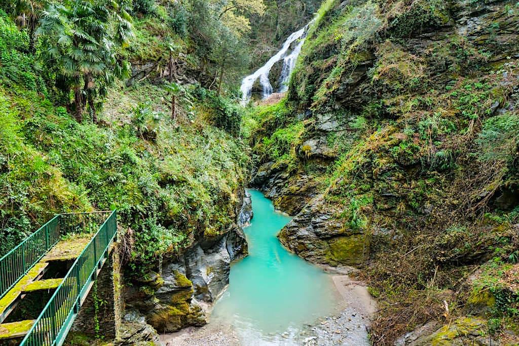 L'Orrido del Bellano - Faszinierende Schlucht mit Wasserfällen - Comer See - Lombardei, Italien
