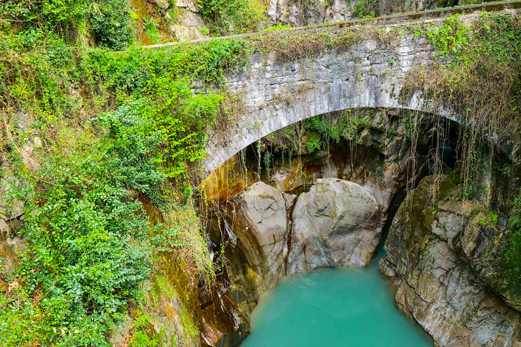 L'Orrido del Bellano - Fazinierende Schlucht - Comer See Sehenswürdigkeiten - Lombardei, Italien