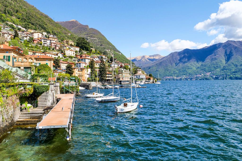Laglio & Moltrasio - wo die Schönen und Reichen wohnen - Comer See - Lombardei, Italien