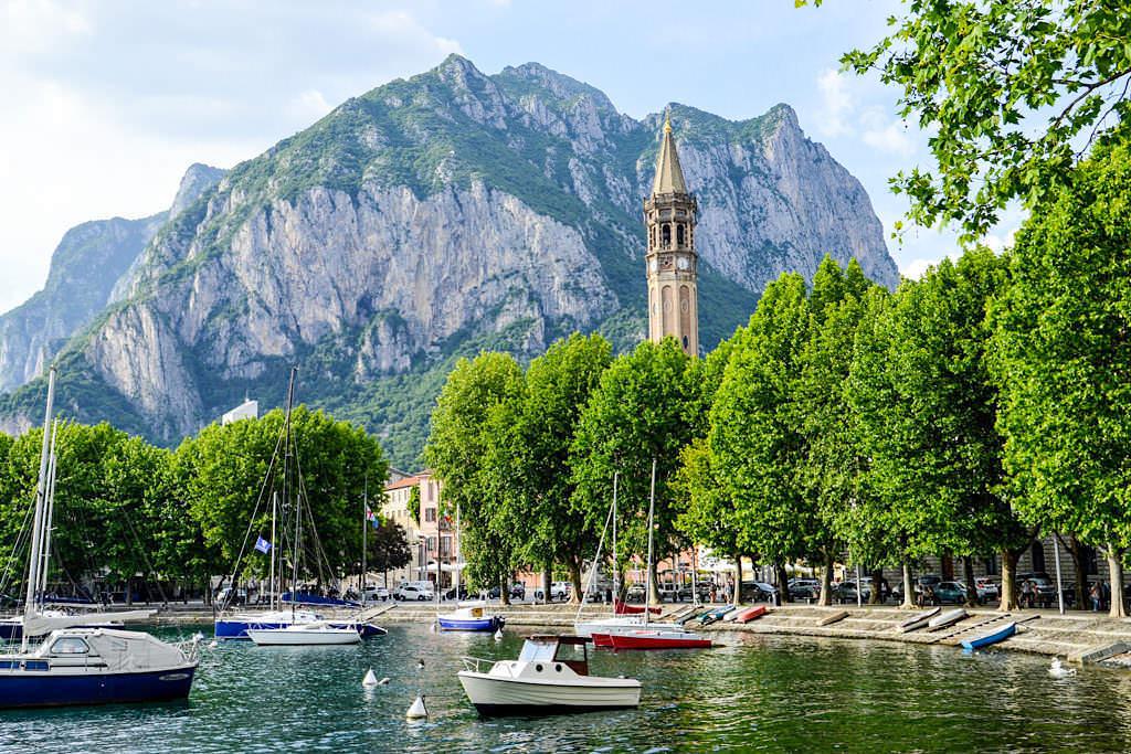 Lecco - Die größte Stadt am Ostufer des Comer Sees - Italien