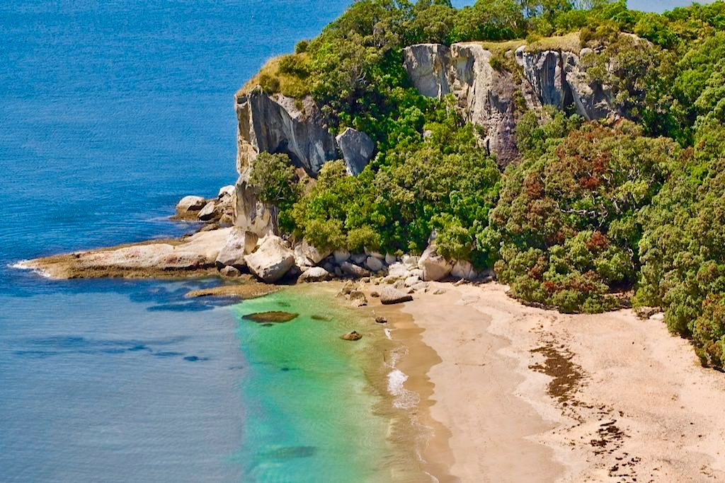 Lonely Beach & Shakespeare Cliff - Coromandel - Nordinsel, Neuseeland
