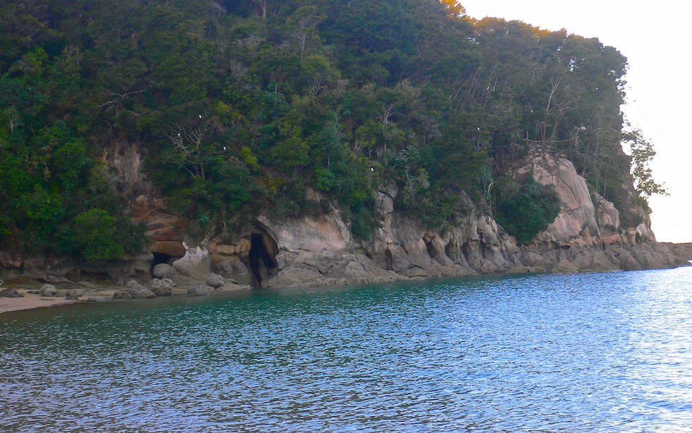 Coast Line at Split Apple Rock near Abel Tasman National Park NZ