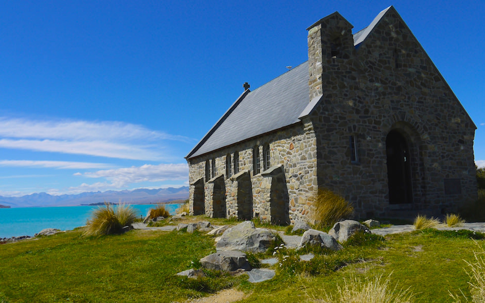 Church of the Good Shepherd - Lake Tekapo - South Island NZ