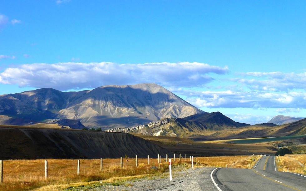 Castle Hill westlich von Christchurch NZ