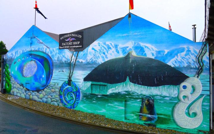 Kaikoura Street Image near Christchurch NZ