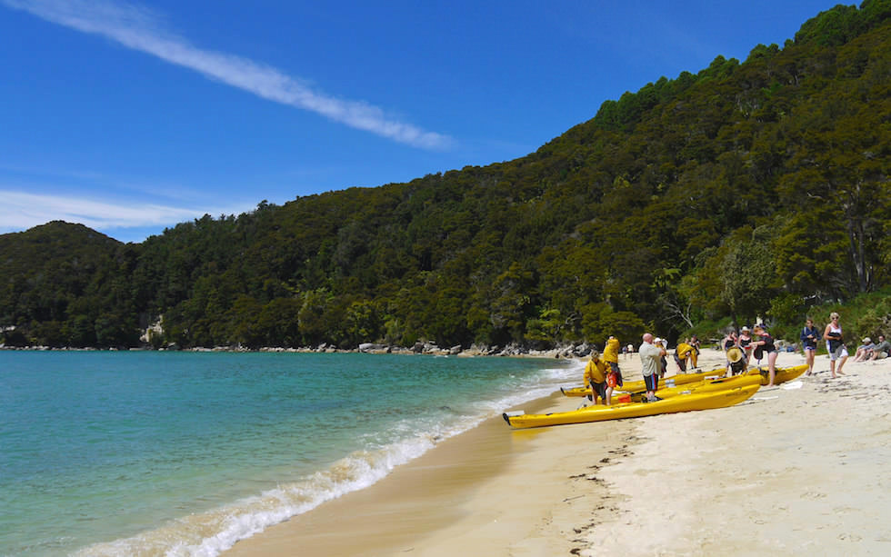 Abel Tasman National Park Bark Bay - South Island NZ