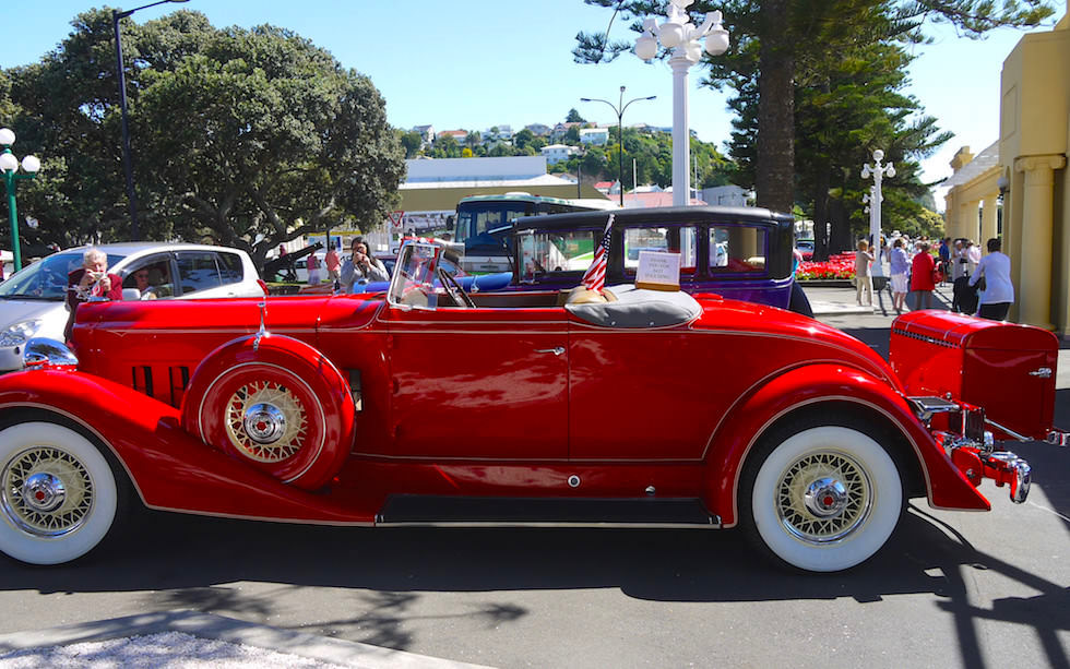 Napier Art Deco Festival in February - North Island NZ