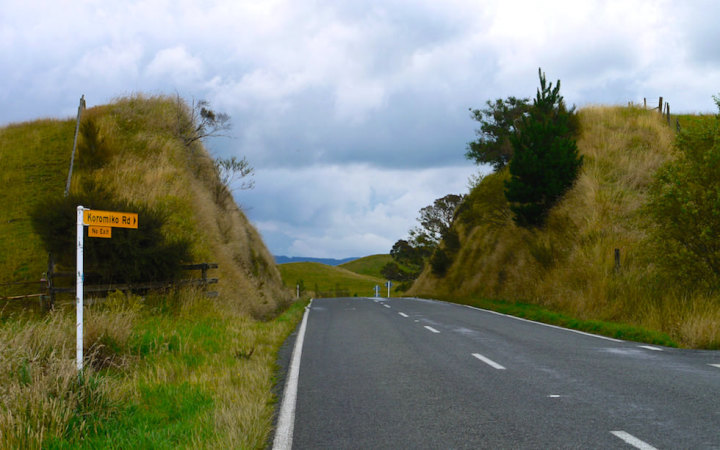 Beautiful back roads Taihape Road & Erewhon Road NZ