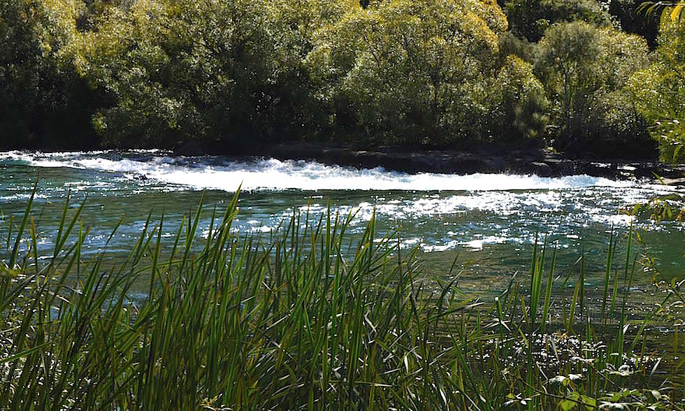 Huka Falls - Lake Taupo - Neuseeland