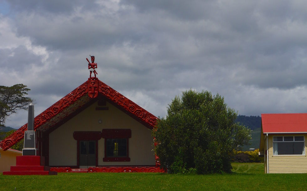 Maori Church  -  Eastland - North of Gisborne North Island NZ