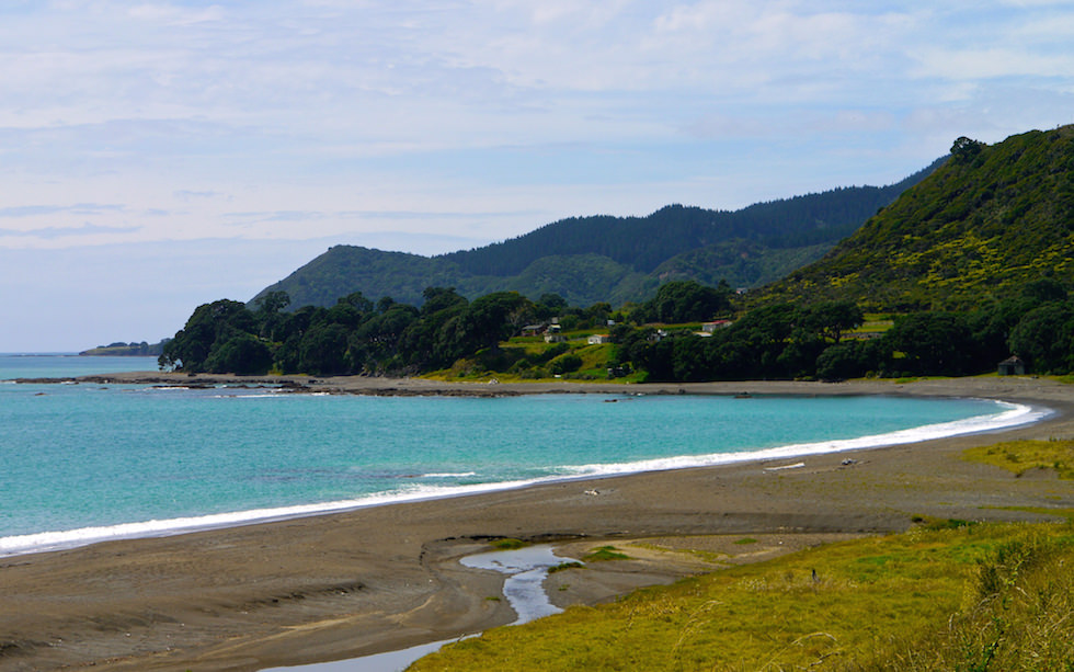 Near Te Kaha  at Bay of Plenty -  Eastland - North of Gisborne North Island NZ