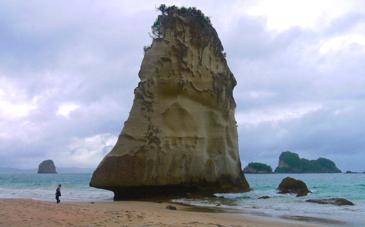 Te Hoho at Cathedral Cove Coromandel Peninsula North Island NZ