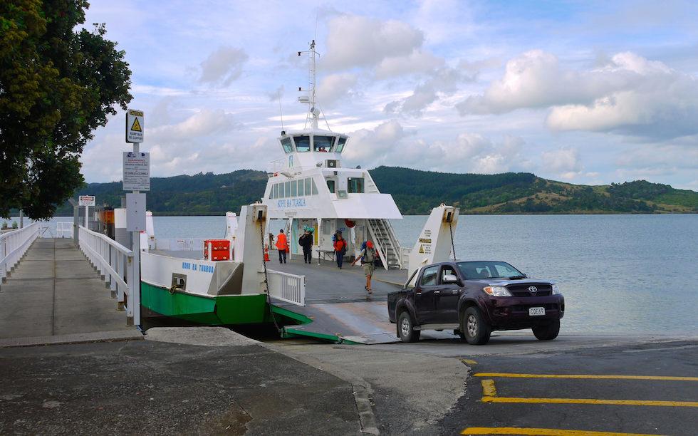 Rawene Ferry Hokianga Harbour  Far North New Zealand