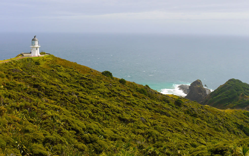 View at Cape Reinga North Island NZ