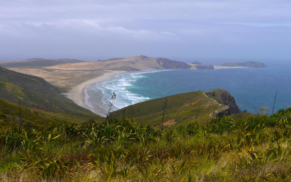 View from Cape Reinga North Island NZ