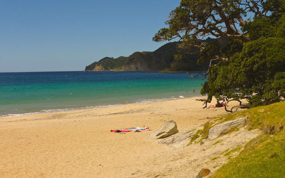 Beaches at Mangawhai North Island NZ