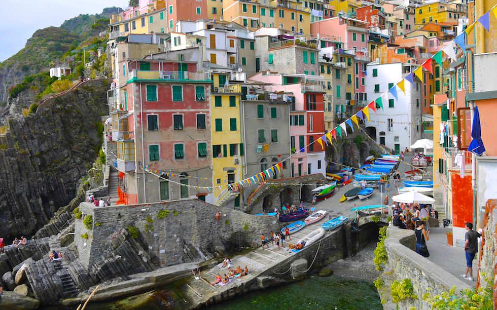 Lovely Riomaggiore Cinque Terre Italy