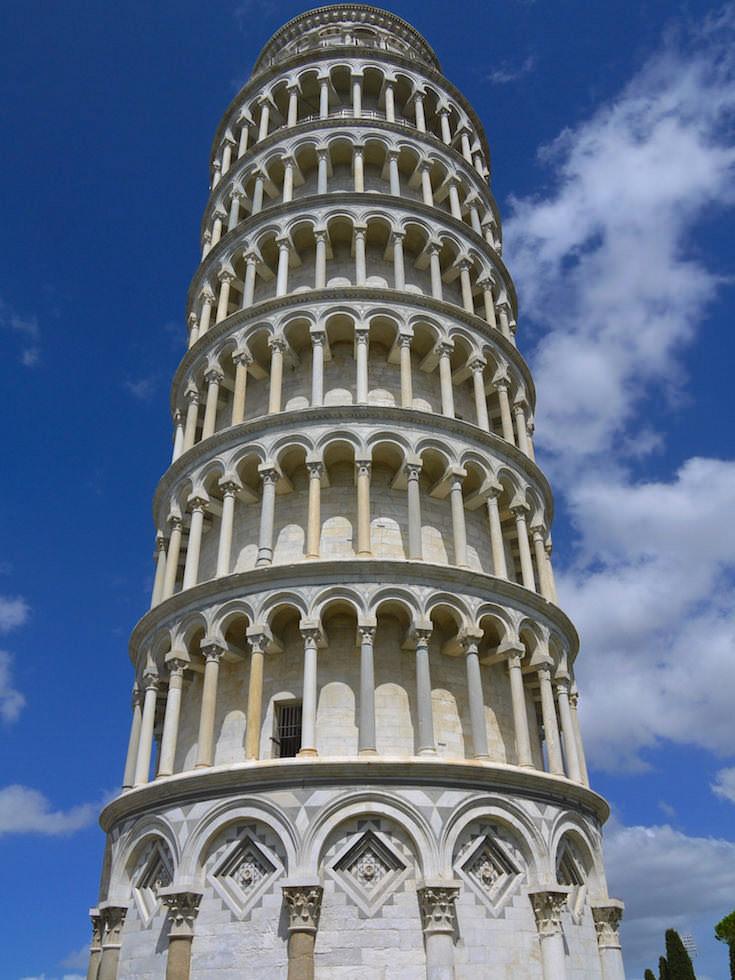 Campanile - Leaning Tower - Schiefe Turm von Pisa
