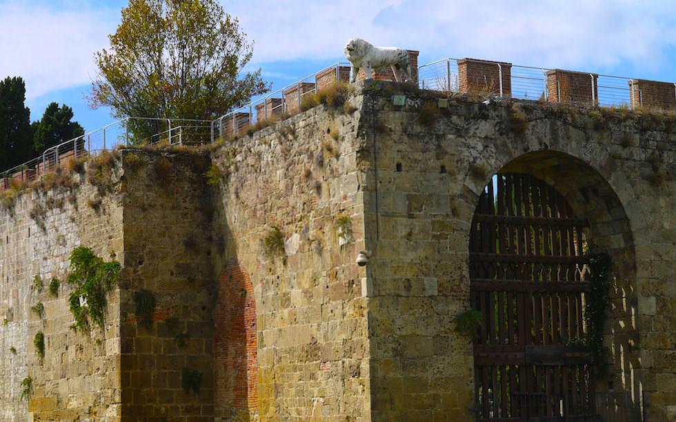 Town Wall of Pisa - Stadtmauer von Pisa - Italy Italien