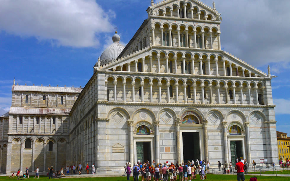 Der Dom - Il Duomo - The Dome - Leaning Tower - Pisa