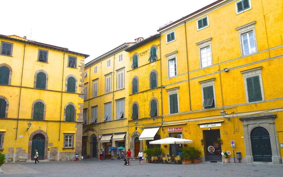 Streets of Lucca Italien Toskana