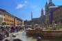 Rom – Piazza Navona – Die schönste, bunteste Piazza in Rom!