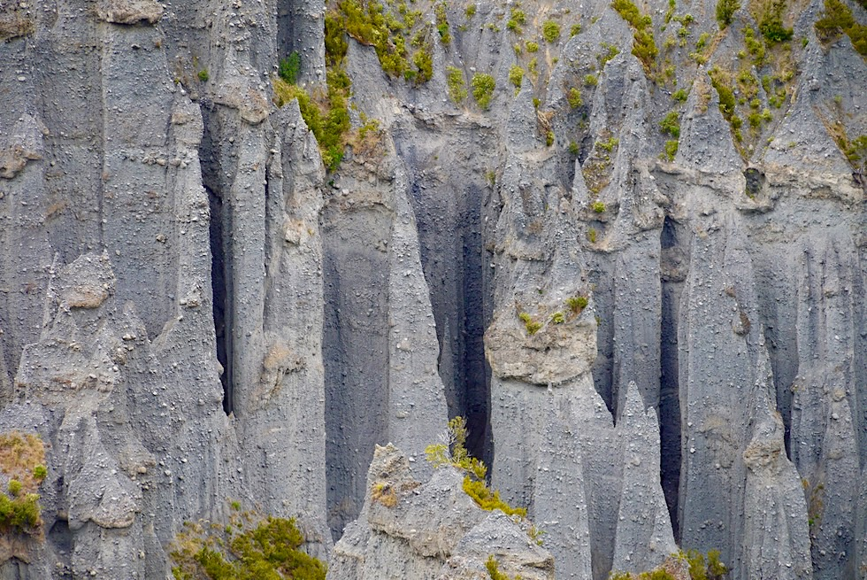 Putangirua Pinnacles - Beeindruckendes Highlight in der Wairarapa Region - Südküste Nordinsel, Neuseeland