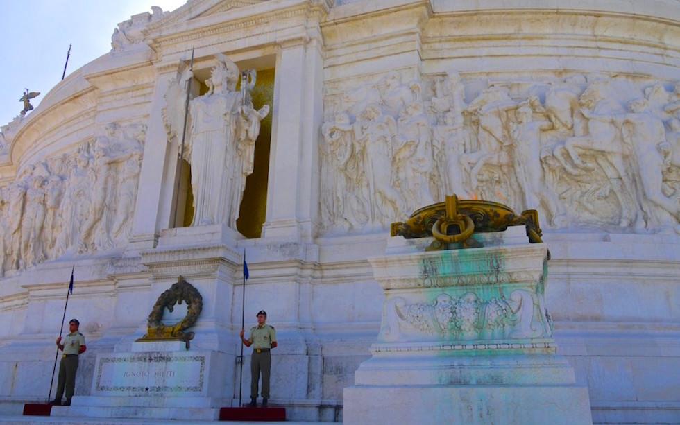 Victor Emanuel II Momument in Rom Piazza Venezia in Italien