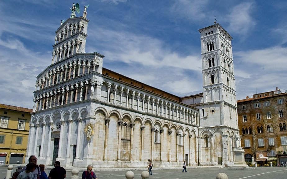San Michele Foro Lucca Italien Toskana