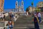 Rom – Spanische Treppe – Trinità dei Monti Kirche – Villa Borghese