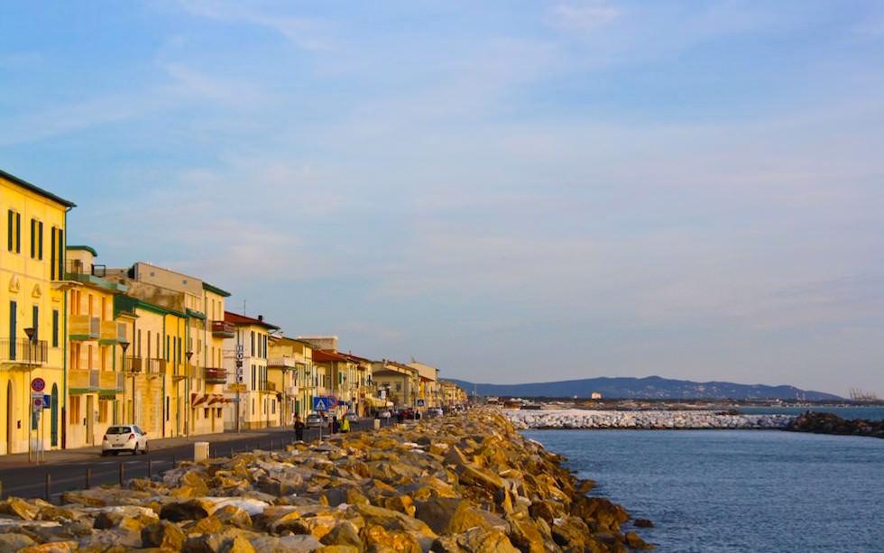 Marina di Pisa Toskana Italia