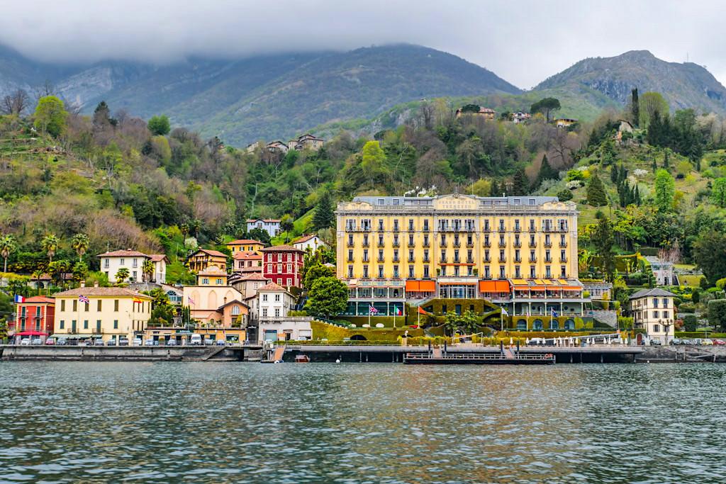 Tremezzo mit Grand Hotel Tremezzo Palace - Comer See - Lombardei, Italien