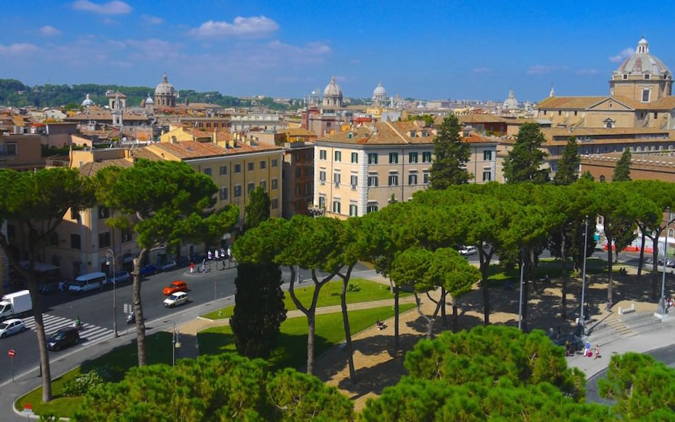 View-from-the-Cardonata-Stairs-at-Capitoline-Hill-down-on-Rome-1024x640