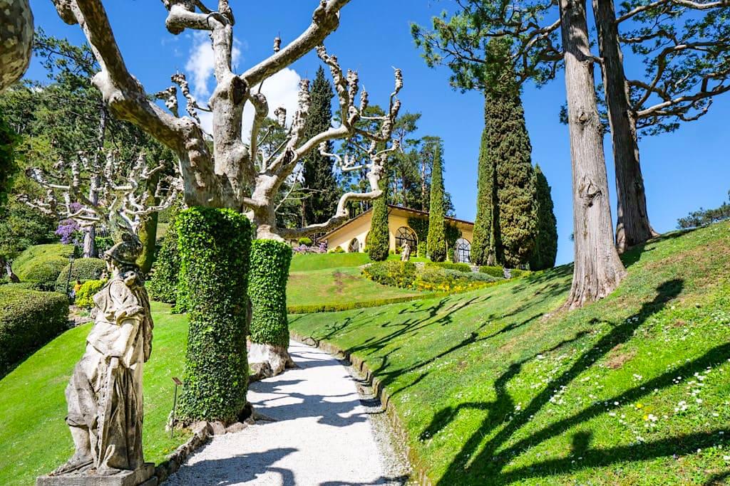 Villa Balbianella und Garten - Die Schönste Villa am Comer See - Lomabardei, Italien
