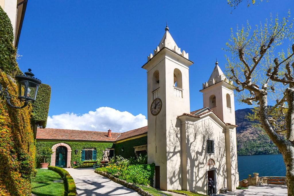 Villa Balbianello - Kirchtürme des einstigen Klosters - Lombardei, Comer See - Italien