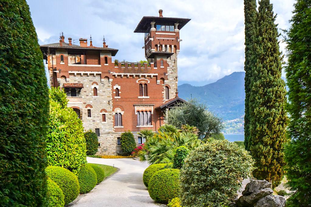 Villa Gaeta bei Menaggio - eines der Märchenschlösser am Comer See - Lombardei, Italien