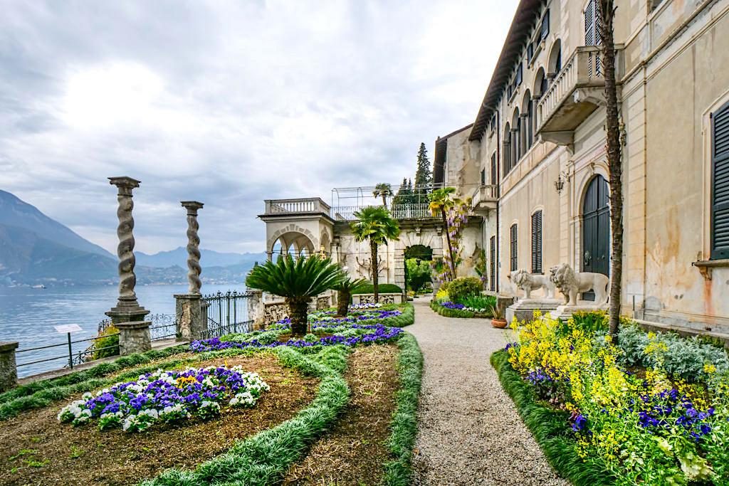 Villa Monastero - Paradebeispiel einer Villa im Eklektischer Stil, einer Mixtour über verschiedene Stilepochen - Comer See Highlights - Italien