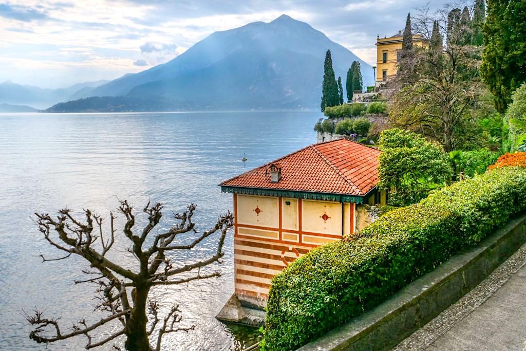 Villa Monastero - Garten-Spaziergang mit grandiosen Ausblicken - Comer See Sehenswürdigkeiten - Lombardei, Italien