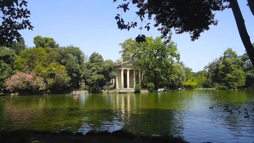 Villa Borghese in Rom Italy