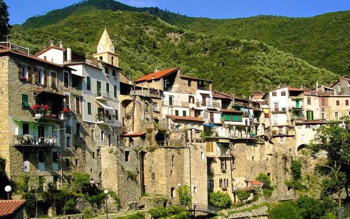 rocchetta nervina near Ventimiglia Italy