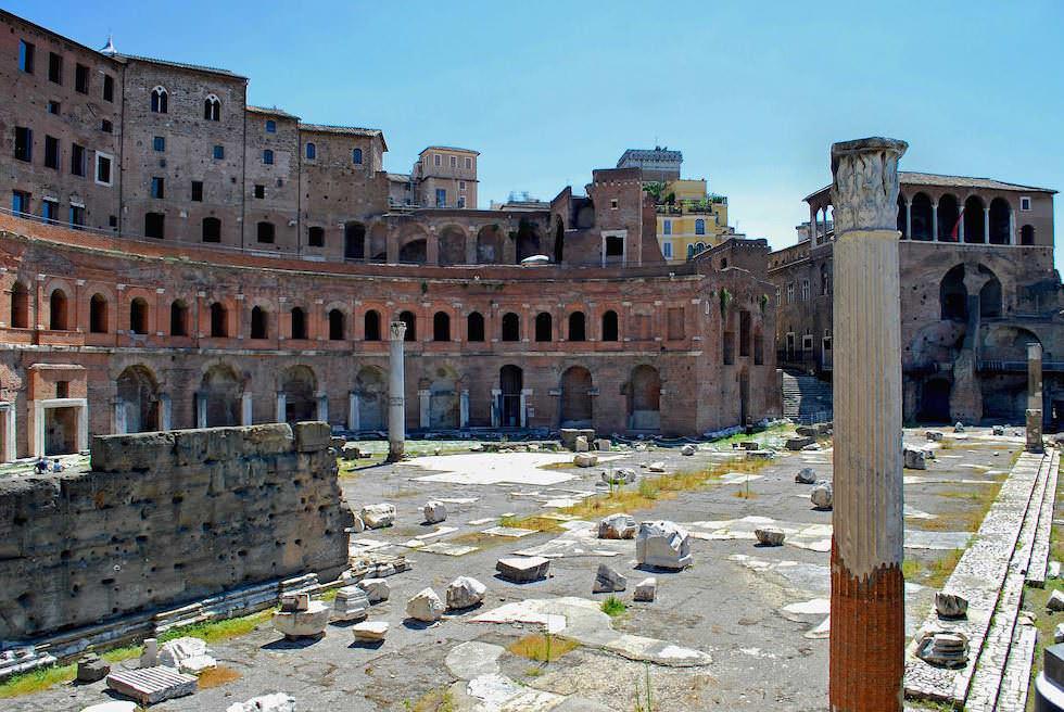 Forum Romanum in Rom Italien