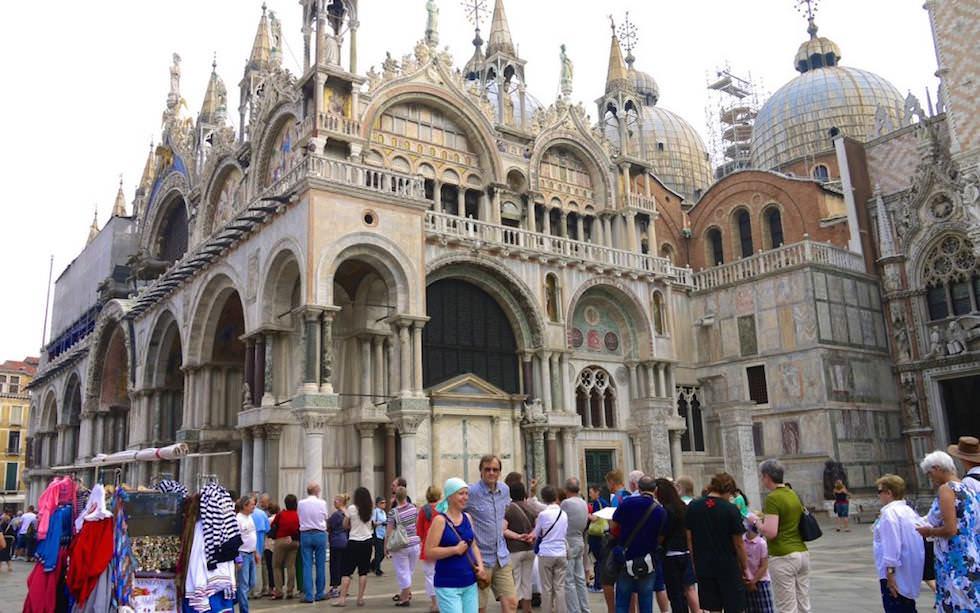 Basilika San Marco - Markusdom - Piazza San Marco Venedig Italien